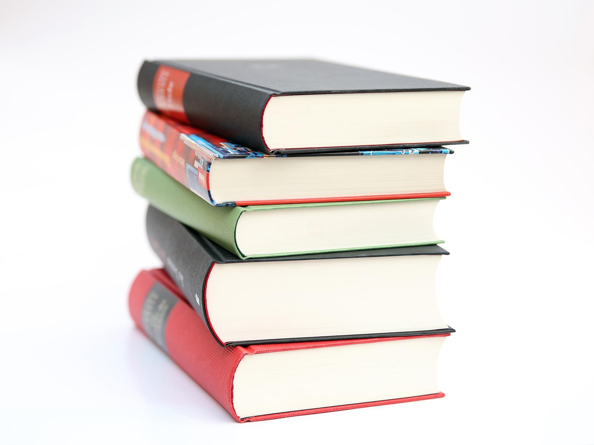 خمس كتب لابد من قراءتها