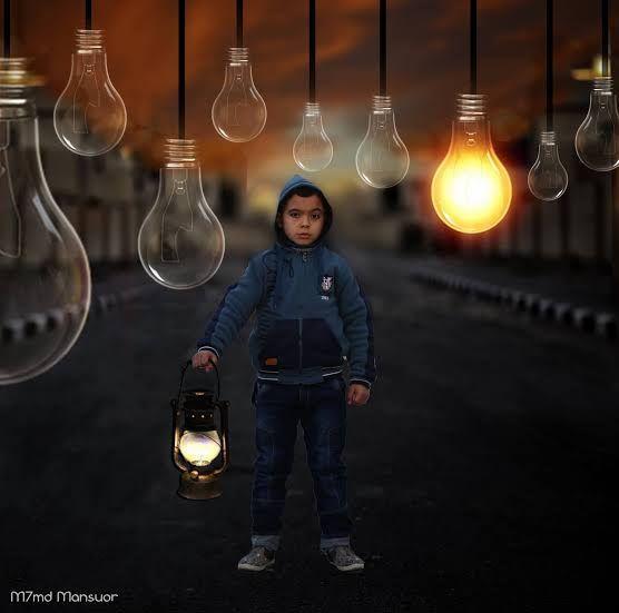 طفل المصباح