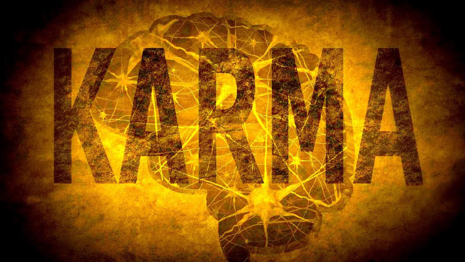 قانون الكارما | القانون الكوني الأهم