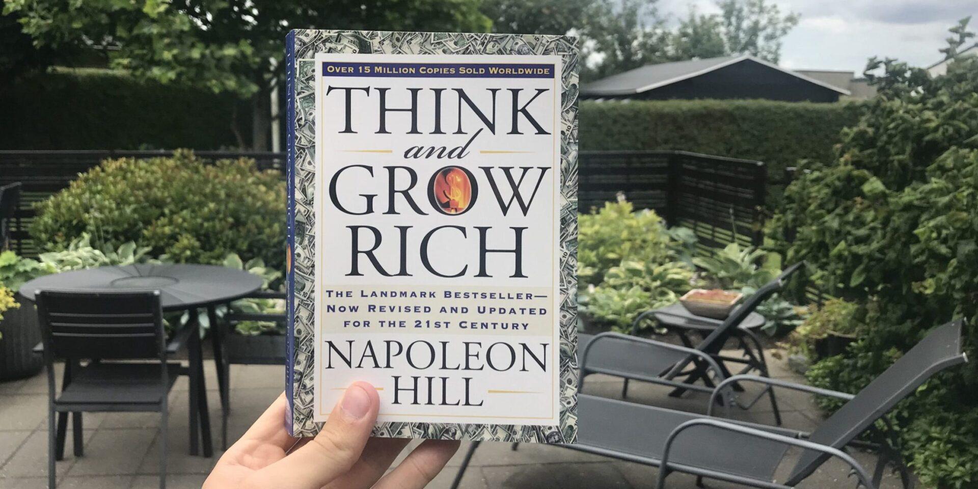 القصة الكاملة لكتاب فكر لتصبح ثريا