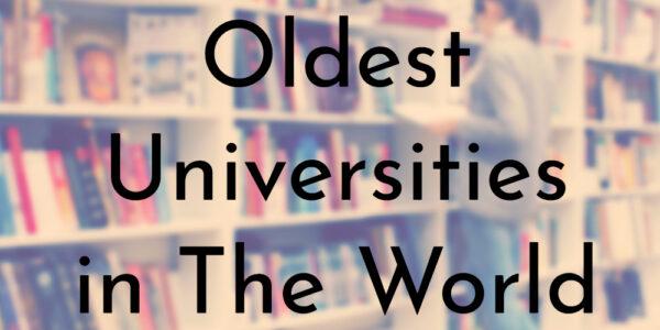 اقدم جامعات العالم