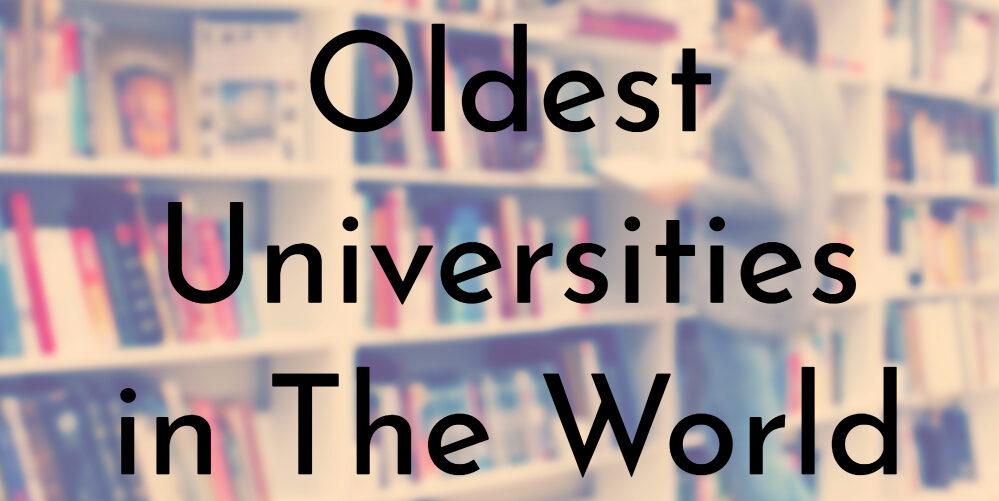 ماهى أقدم جامعات فى العالم ؟
